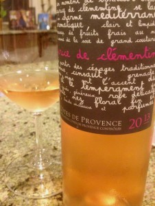 2013 Chateau les Valentines Le Caprice de Clémentine Les Valentines  Côtes de Provence Rosé
