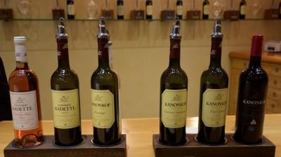 Kanonkop Wine Tasting Lineup