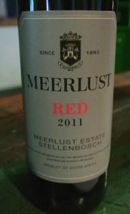 2011 Meerlust RED