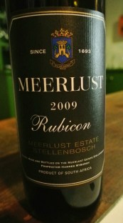 2009 Meerlust Rubicon