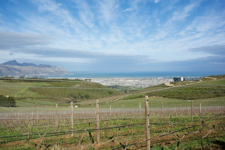 View toward False Bay