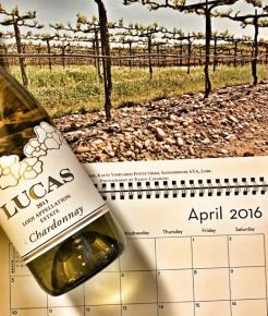 April 2016 Lodi Wine