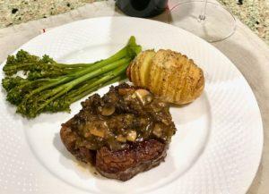 Beef Tenderloin Mushroom Dinner