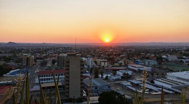 Windhoek Sunset