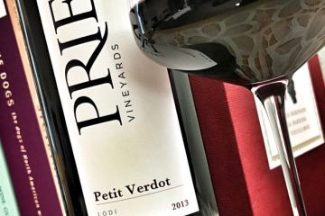 2013 Prie Vineyards Petit Verdot Featured