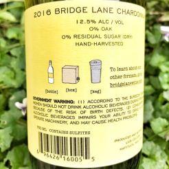 Bridge Lane Chardonnay label