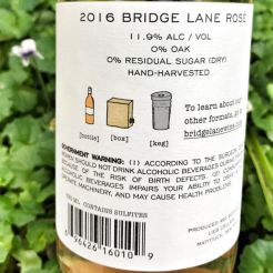 Bridge Lane Rose label