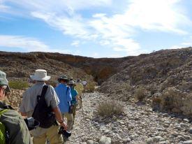 Walk to Sesriem Canyon