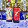 Backyard party wines