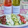 Les Vignes de Bila-Haut and Cobb Salad