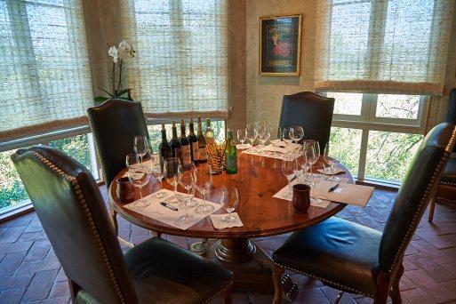Set for wine tasting
