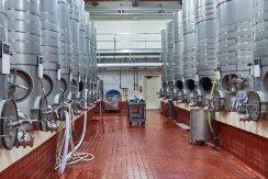 Tank room Silverado Vineyards