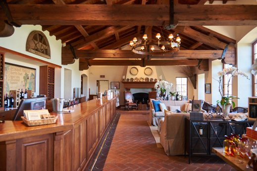 Silverado Vineyards tasting room