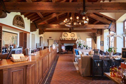 Silverado Vineyards tasting room