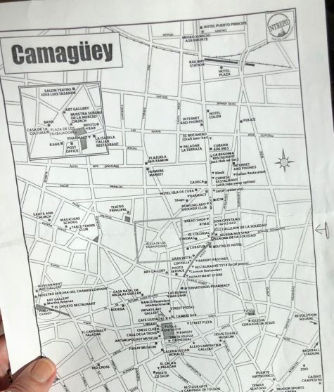 Map of Camaguey
