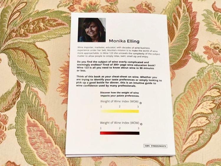 Monika Elling Wine 123 back cover