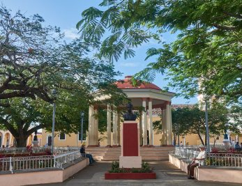 Gazebo in Plaza Marti