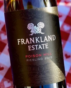 Frankland Estate Poison Hill Riesling