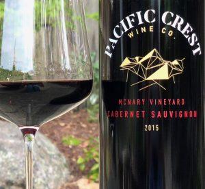 Pacific Crest Wine Co McNary Vyd Cabernet Sauvignon