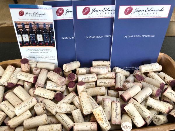 Corks at Jean Edwards Cellars Image