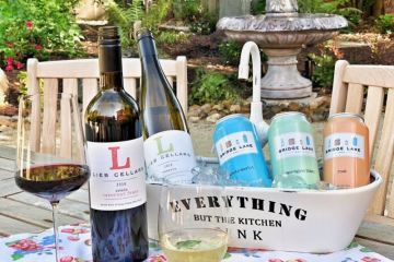 Lieb Cellars and Bridge Lane wines