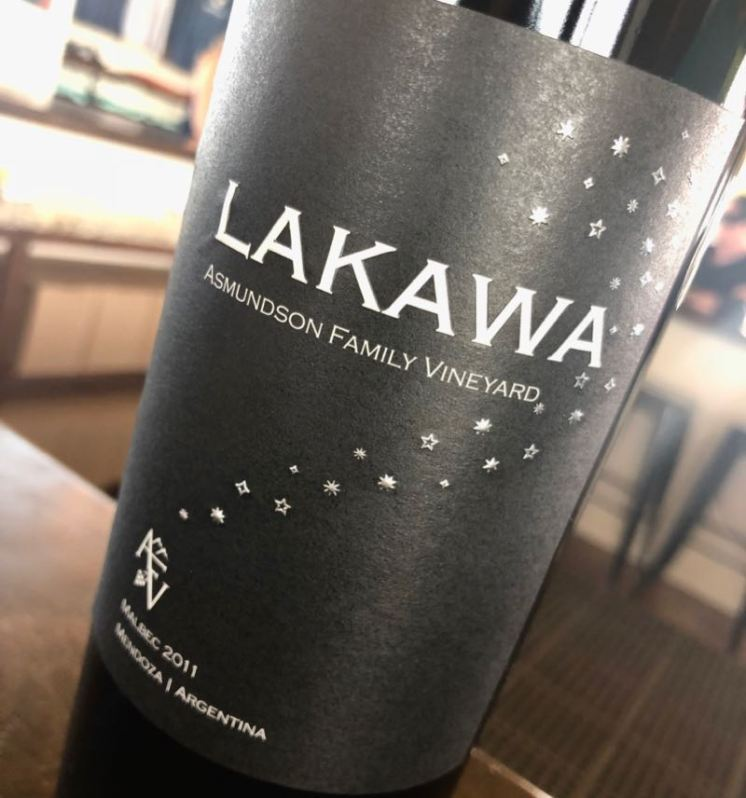 2011 Asmundson Family Vineyard Lakawa