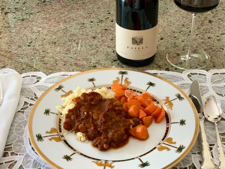 Failla Hudson Vineyard Syrah and Lamb Tagine featured photo