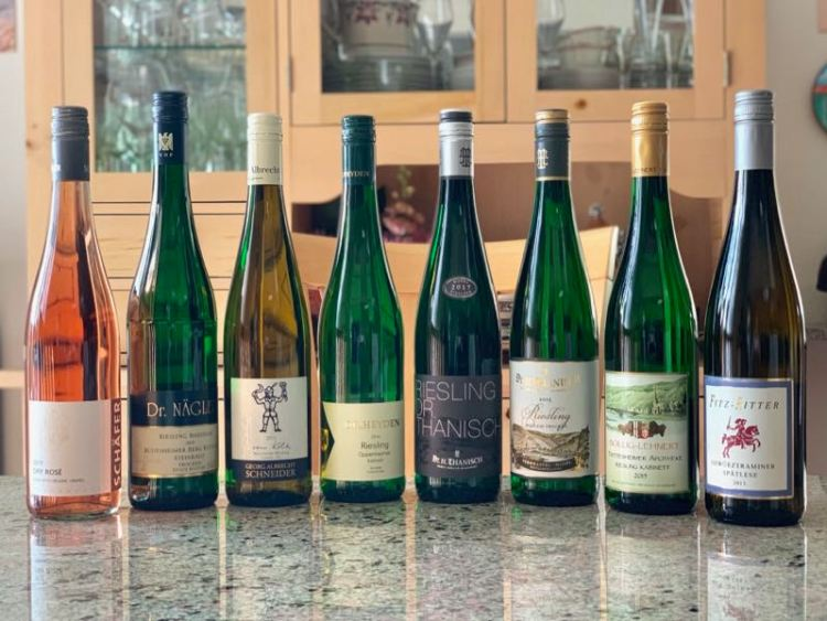 German Wine Exploration