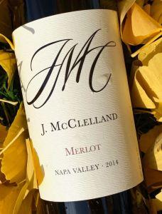 J McClelland Merlot