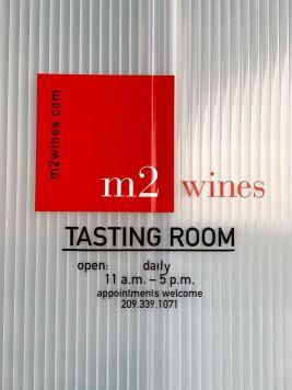 m2 Wines tasting room hours