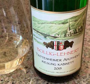 Bollig-Lehnert Trittenheimer Apotheke Riesling Kabinett, Mosel