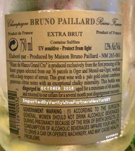 Bruno Paillard disgorgement date