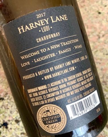 Harney Lane Chardonnay Certified Green