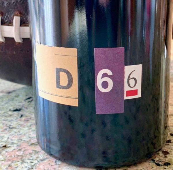 2014 Department 66 'D66' Grenache, Côtes Catalanes IGP