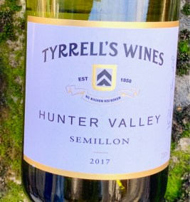 2017 Tyrrells Wines Semillon, Hunter Valley