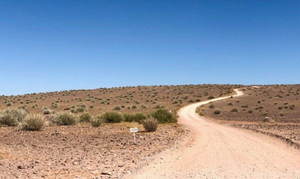3 km to the Fish River Lodge