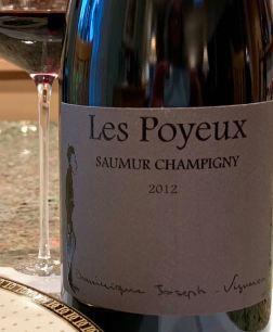 2012 Dominique Joseph Petit St. Vincent 'Les Poyeux', Saumur Champigny