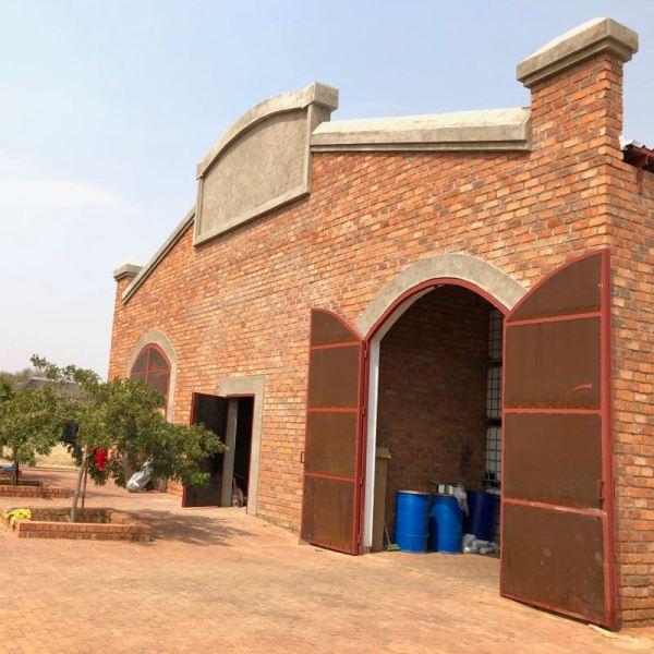 Erongo Mountain Winery entrance