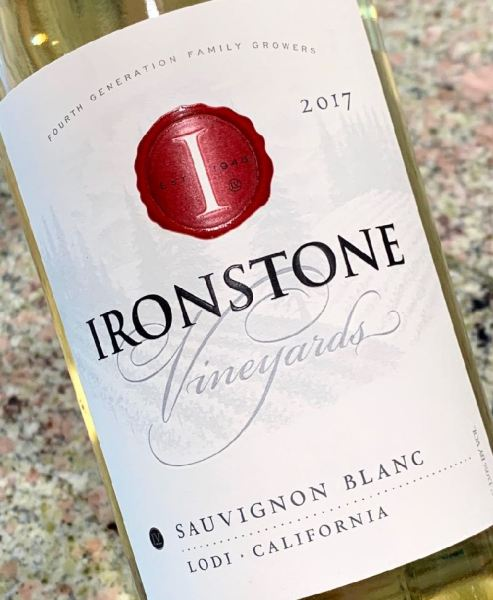 2017 Ironstone Vineyards Sauvignon Blanc, Lodi
