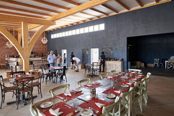 Erongo Winery tasting room