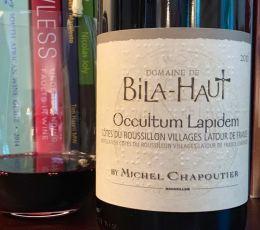 2016 Domaine de Bila-Haut Occultum Lapidem, Côtes du Roussillon Villages Latour de France
