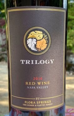 2016 Flora Springs Trilogy, Napa Valley
