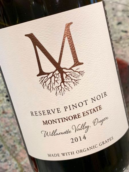 2014 Montinore Estate Reserve Pinot Noir, Willamette Valley Oregon