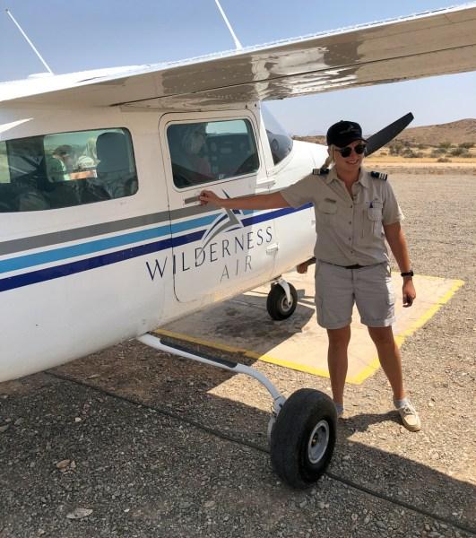Our pilot Chante