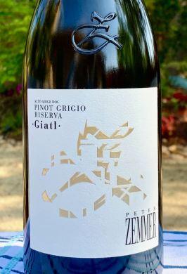 "2016 Peter Zemmer Riserva ""Giatl"" Pinot Grigio, Alto Adige DOC"
