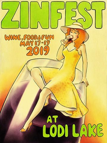 ZinFest 2019 graphic from the ZinFest website.