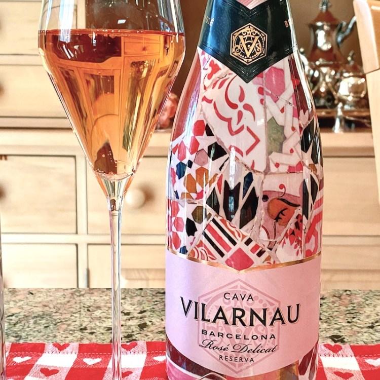 Vilarnau Rosé Delicat Reserva NV, Cava photo