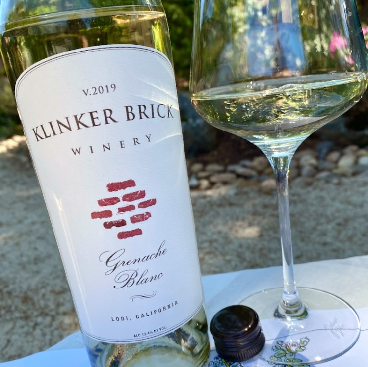 2019 Klinker Brick Winery Grenache Blanc, Lodi photo