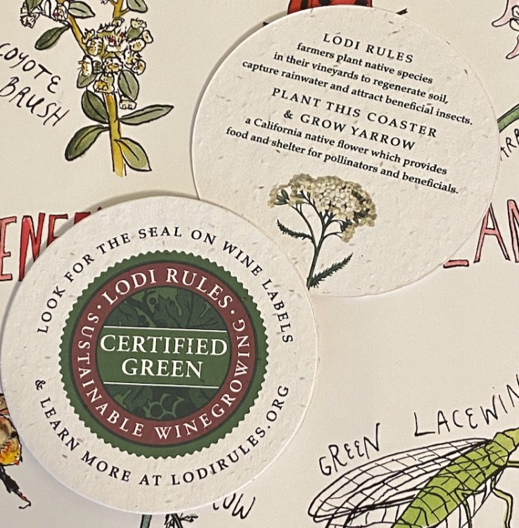 LODI RULES sustainability seal photo