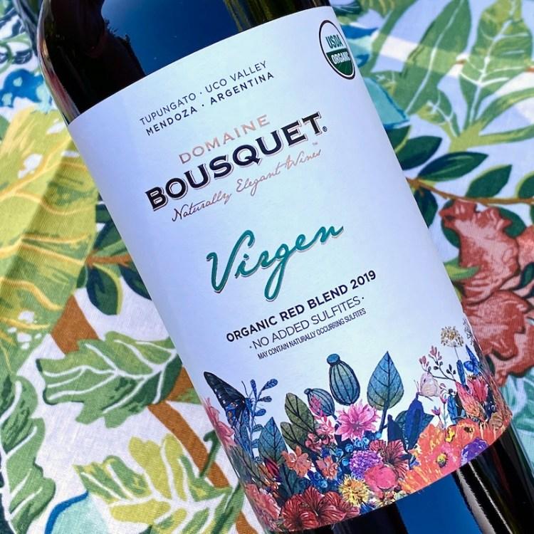 2019 Domaine Bousquet Virgen Organic Red Blend, Tupungato, Argentina photo